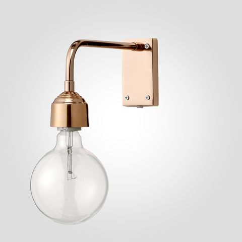 Bloomingville Vägglampa 40w - Koppar