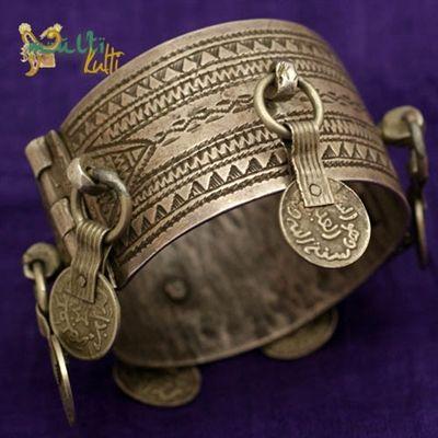 Srebrna bransoleta Berber / Berber Silver Jewellery