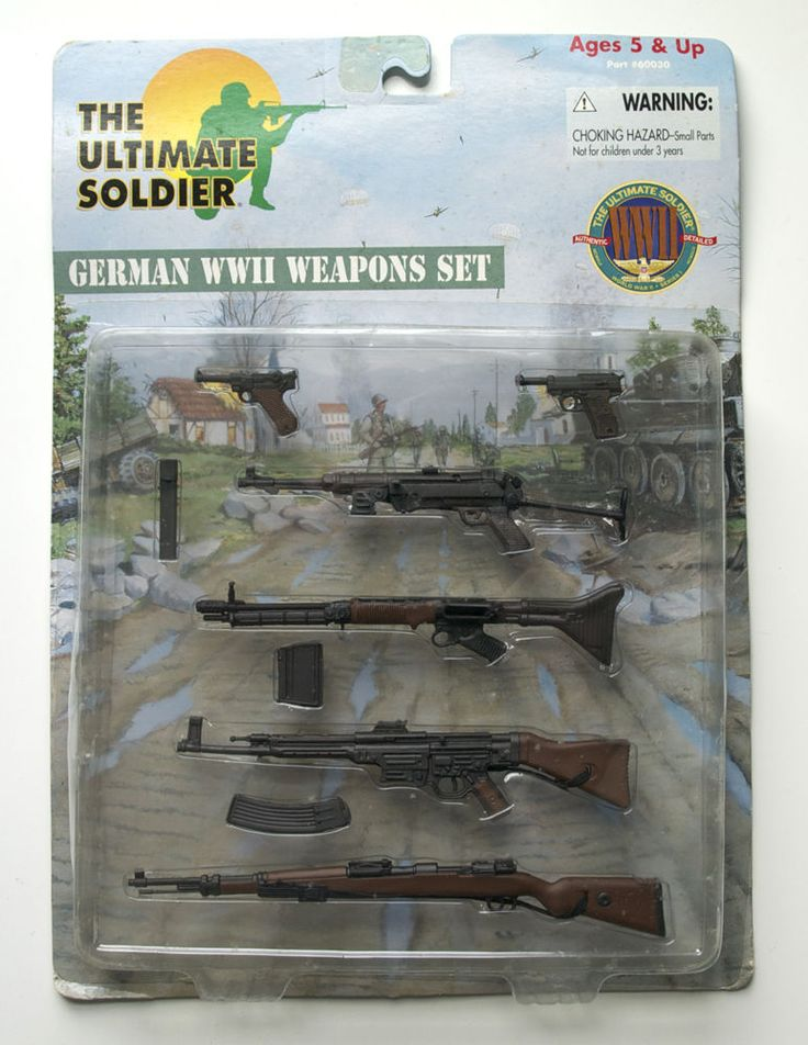 Ultimate Soldier German WWII Weapons Set, 21st Century ...