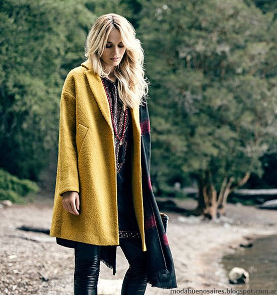 Tapados de moda otoño invierno 2016 by India Style. Moda otoño invierno 2016.