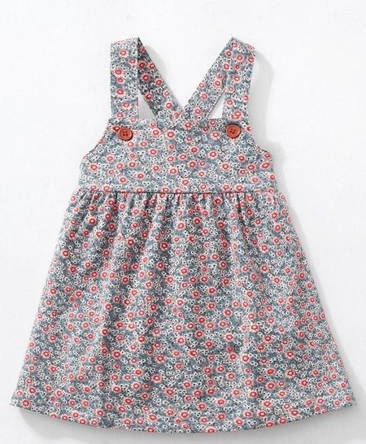 6cdb030f8 Little maven kids brand clothes 2018 autumn baby girls clothes Cotton  flower print sundress girl animal sleeveless dresses