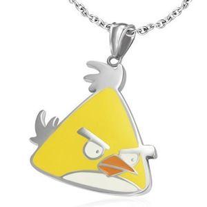 Pandantiv Yellow Bird - 79 RON     Este putin incruntata si se uita urat la toti cei care te supara! Un pandantiv simpatic si haios pe care toata lumea si-l doreste!