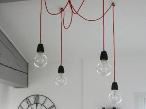 quand de simples ampoules deviennent des luminaires design salons and lights. Black Bedroom Furniture Sets. Home Design Ideas