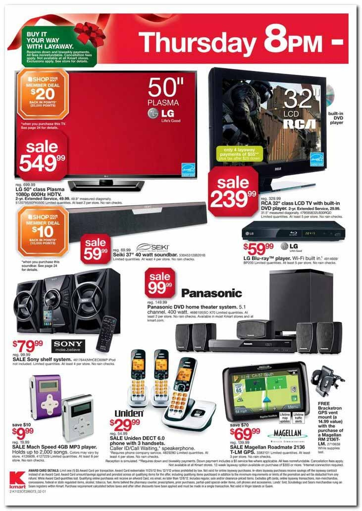 Black Friday Ad Leak - Kmart's Black Friday Ad Scan - The highly anticipated Kmart Black Friday Ad is here with an incredible 47 pages of hot deals for everything you could possibly want to buy on sale for the holidays from the hottest toys to electronics and everything in between. #Kmart #BlackFriday #BlackFridayDeals #openThanksgivingDay #electronics #speakers #HDTV