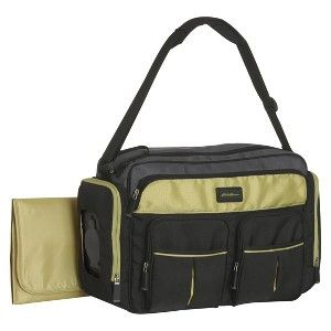 eddie bauer easy access duffle diaper bag black lime food pinterest diaper bag. Black Bedroom Furniture Sets. Home Design Ideas