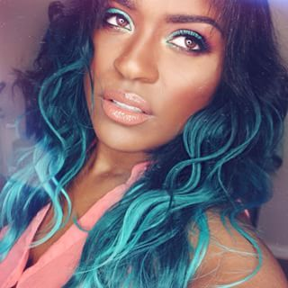 If need be, put the human shtick on pause for a sec and get on your mermaid flow. | 21 Women Who Prove Bright Makeup Is Better