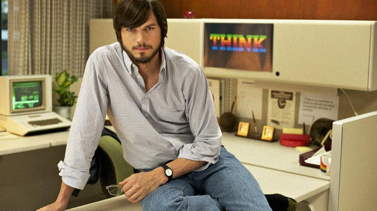 """""""jOBS"""" - A film about Steve Jobs starring Ashton Kutcher, will be released in April."""