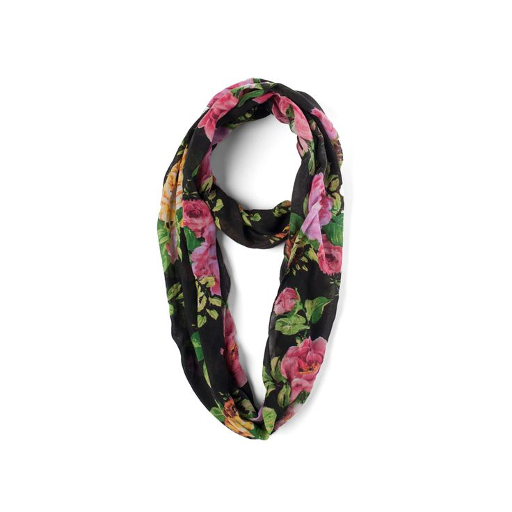 i the big buddha blooming roses scarf from