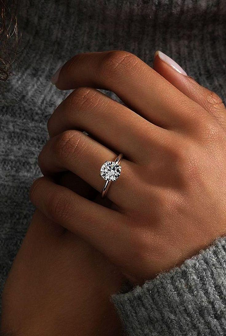 Awesome 56 Simple Verlobungsring für Mädchen, die lieben – WooHoo