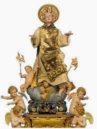 Dios clemente y misericordioso,   en tu Omnipotente Trinidad yo confío y espero   y por la mediación de San Cono   te pido salud, tra...