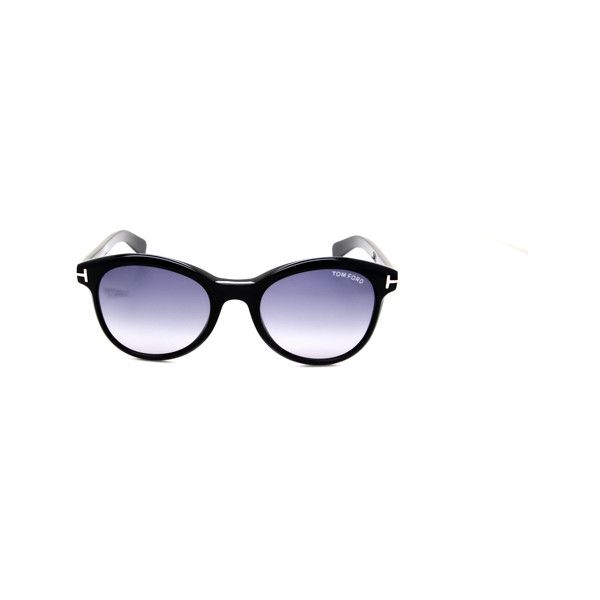 Tom Ford FT0298 RILEY 01B ($215) ❤ liked on Polyvore featuring accessories, eyewear, sunglasses, tom ford glasses, tom ford, tom ford sunglasses, tom ford sunnies and acetate glasses