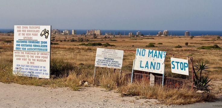 (western coast of the island of Cyprus) Varosha - ghost resort