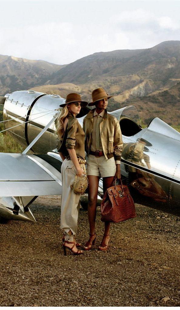 Archives des campagnes : Ralph Lauren Collection Automne 2009.