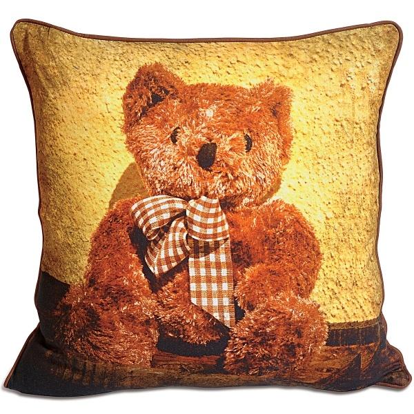 Beautiful teddy cushion cover by swayam