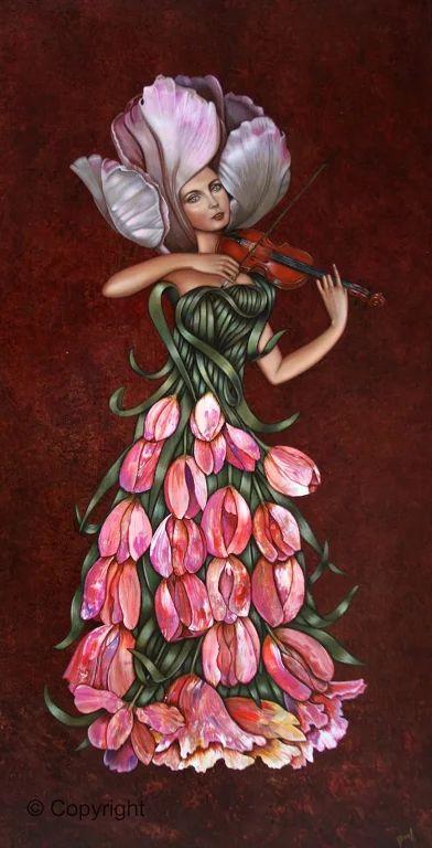David Silva - Dasil - Mexican Surrealist painter.
