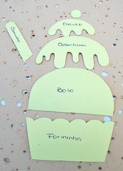 Capa de caderno de receitas Cupcake em E.V.A., como fazer