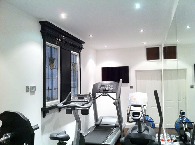 Garage Conversions - From garage to home gym