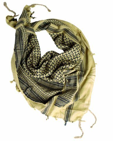 Army Shemagh Military Scarf Tactical Patrol Shermag Combat Keffiyeh Khaki Black: Amazon.co.uk: Sports & Outdoors