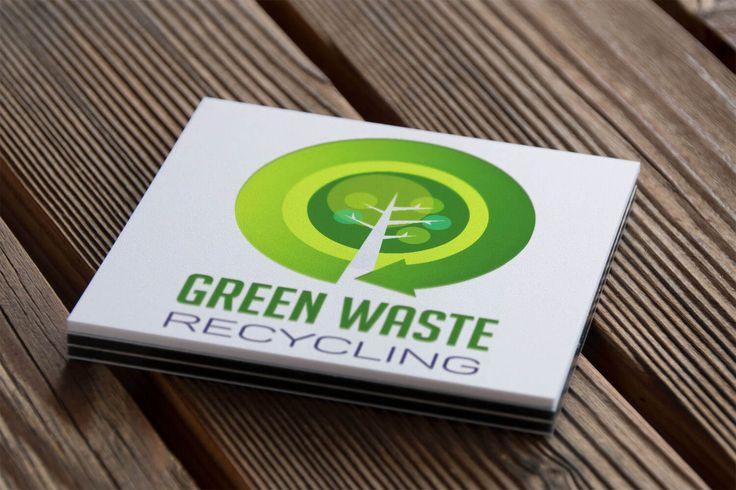 logo, green waste recycling logo, logo with tree, fa, zöldhulladék hasznosítás