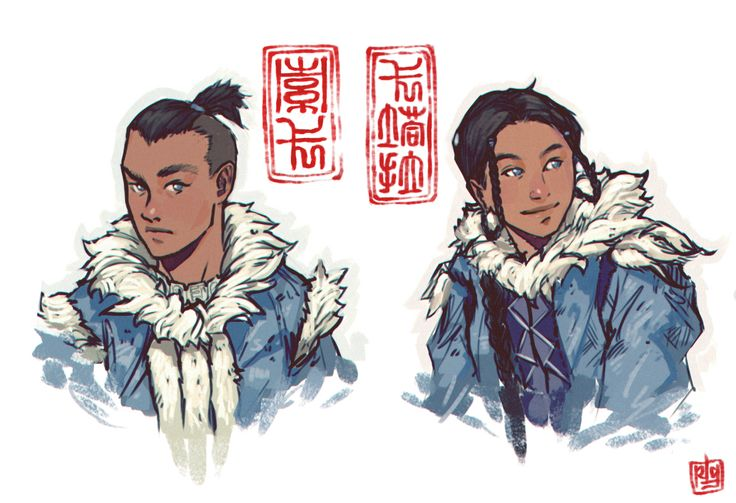Siblings   Katara & Sokka   The Last Airbender   Avatar