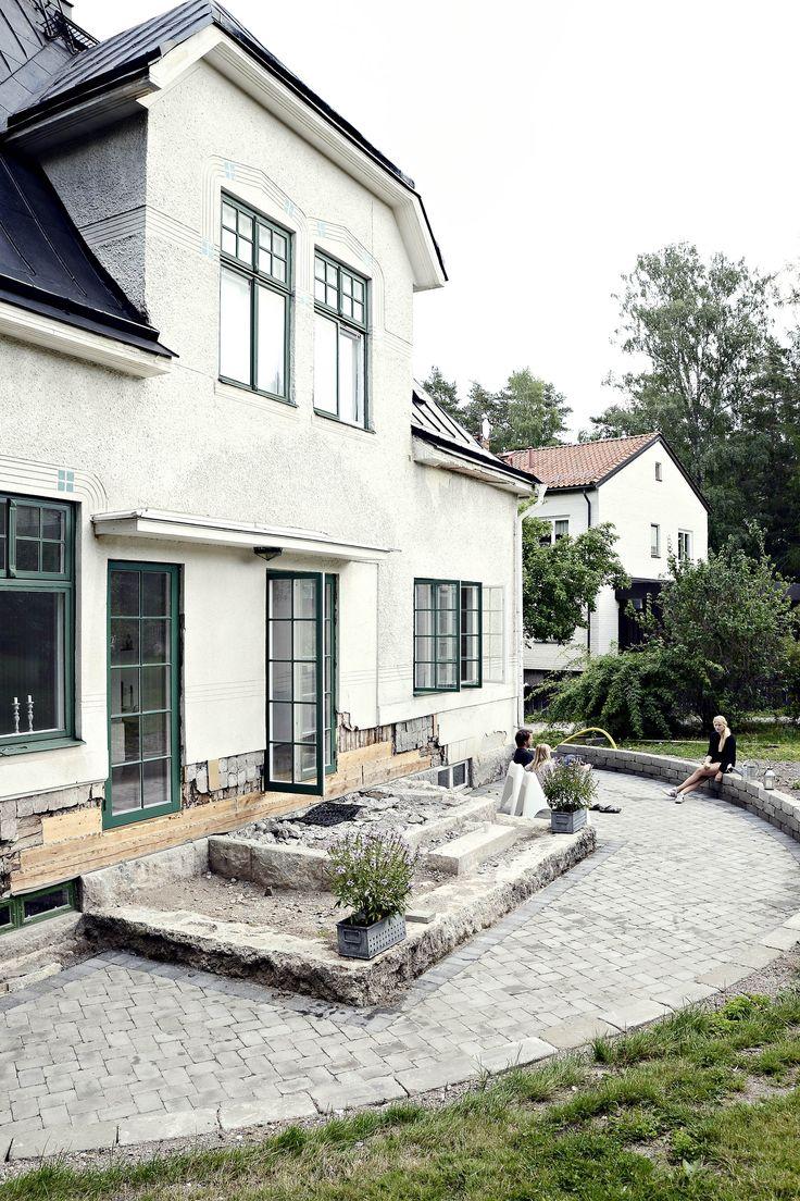 Bildresultat för putsade hus inspiration