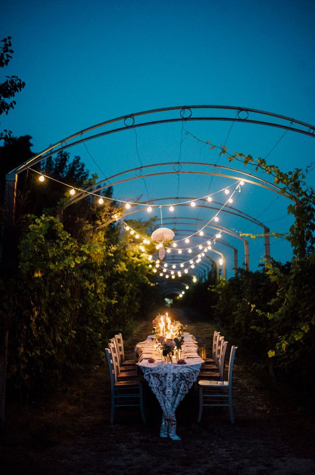 wedding reception lighting ideas. This Intimate Italy Wedding Has The Most Darling Getaway Car WeddingWedding LightingReception IdeasWedding Reception Lighting Ideas E