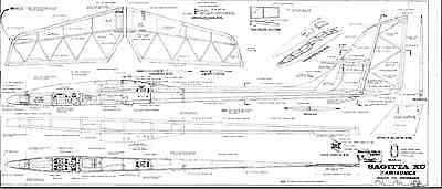 SAGITTA XC Sailplane, Glider, 174 in WS RC AIrplane