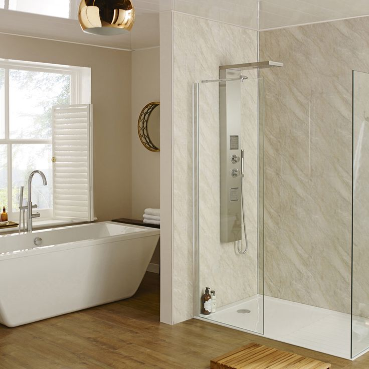 Wall panels are the ideal alternative to tiles! | Bathroom ...