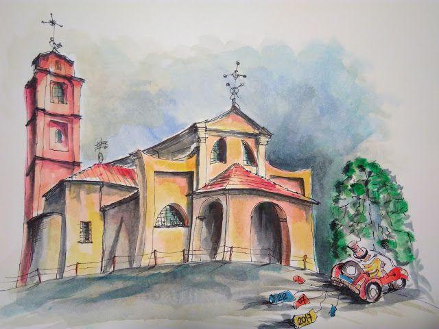 Chiesa di Fiamenga (Vicoforte - Italy)