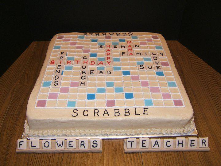 Scrabble Cake | The NGU Cake Lady | Flickr