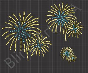 "99 Cents - Monday Only Rhinestone Design Download File in SVG, EPS, PLT and PDF Fireworks small: 256 stones ss6 ss10 3.0 x 3.0"" medium: 356 stones ss16 ss20 7.0 x 6.9"" large: 370 stones ss20 s 9.0 x 8.9""  Optional - Pre-Cut Sticky Flock Rhinestone Template / Stencil"