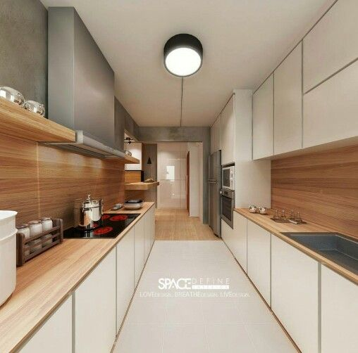 Kitchen Cabinets Singapore: Scandinavian Theme @ Kitchen