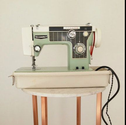 Vintage Dressmaker Sewing Machine / Mid-Century by RosePettijohn