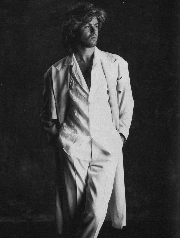George Micheal when he was still hot, before he started to do icky stuff with guys in the mens room.