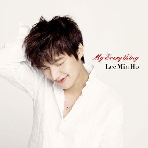 Lee Min Ho. My Everything Japan Cover Album Version.