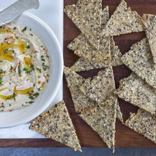 Foolproof Gluten Free Seeded Crackers You Can Make Yourself