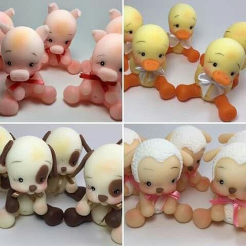 Cute little polymer clay critters,                                                                                                                                                                                 Más                                                                                                                                                                                 Más