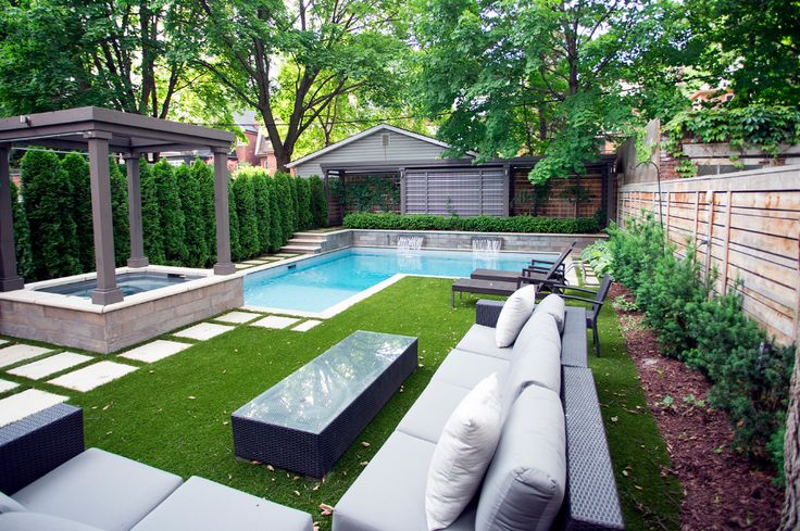 The backyard is magical!