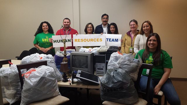 Donations from the Goodwill HR team. #Donate4Good :)