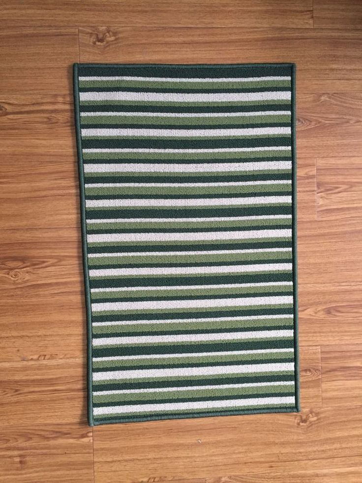 Green White Door Mats & Floor Mats rug for your home bedroom living room  #HUAHOO #ArtsCraftsMissionStyle