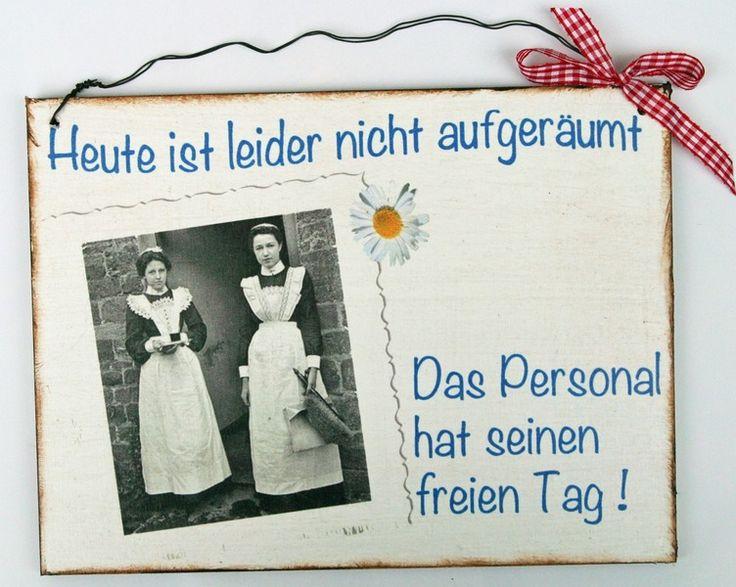 Tür- & Namensschilder - Türschild Humor - ein Designerstück von Un-Art-Tick bei DaWanda