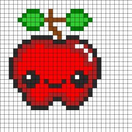 minecraft pixel art of food - Google Search