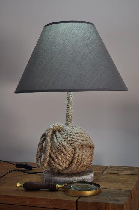 Лампа настольная узел H:49 cm