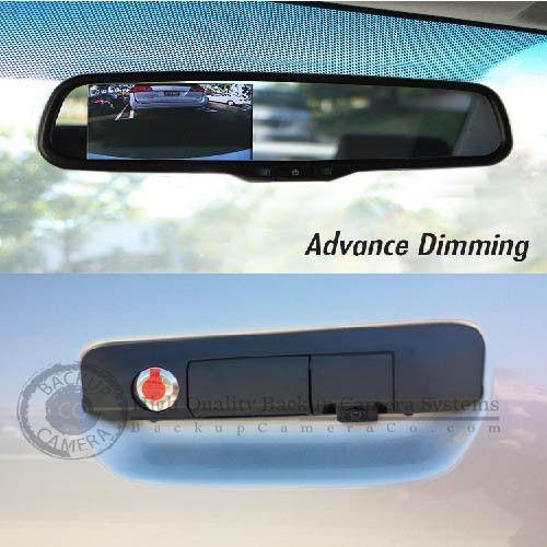"Toyota Tacoma Backup Camera & 4.3"" LCD Auto Dimming Mirror 2005-2014"
