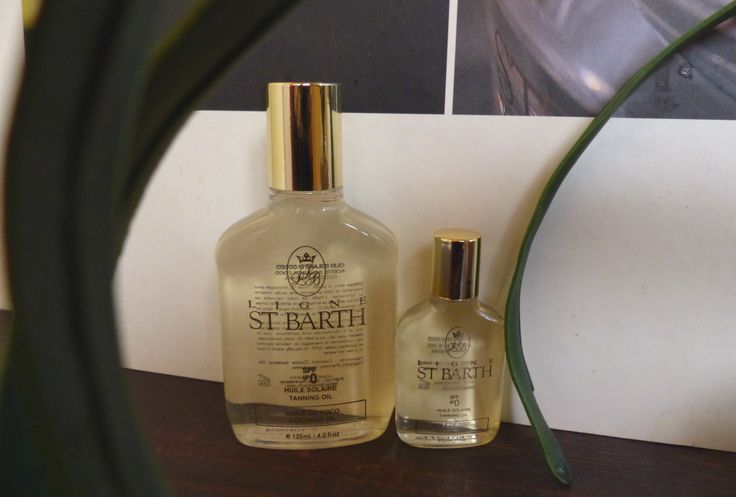 Coconut oil by LIGNE St. Barth - smells like #Caribbean