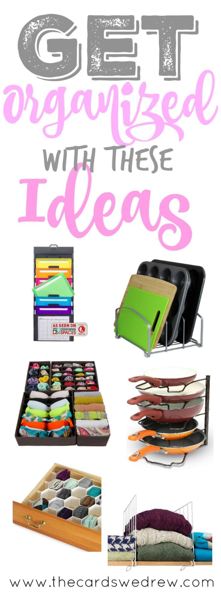 Learn how to get organized in the new year with this list of things to work on and products that can help you along the way!