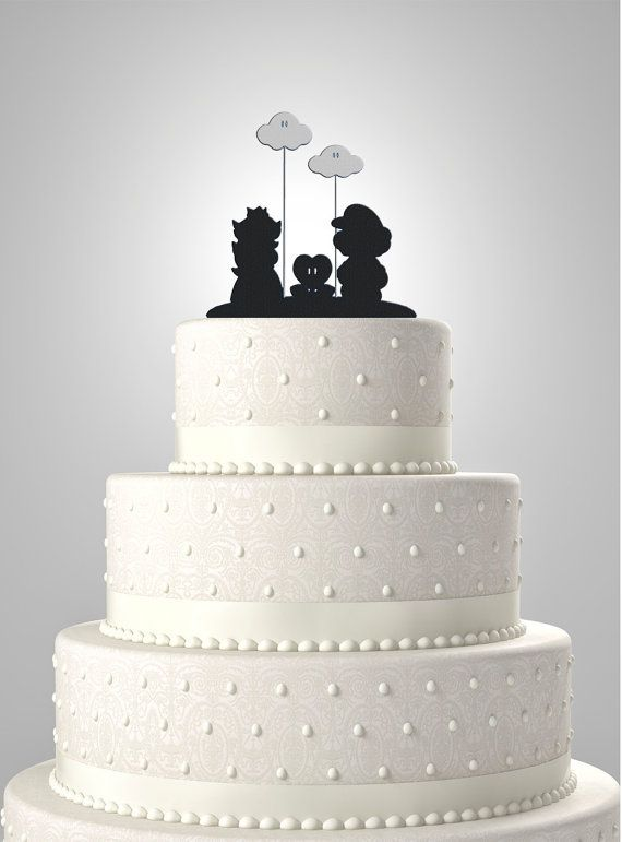 mario wedding cake topper 28 best images about bolo cenogr 225 ficos on 17154