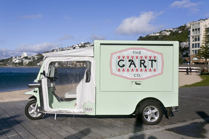 POP UP NOW AND SPACEWORKS DOES: A TUK TUK IN WELLINGTON #popupnow #popup #popdaily