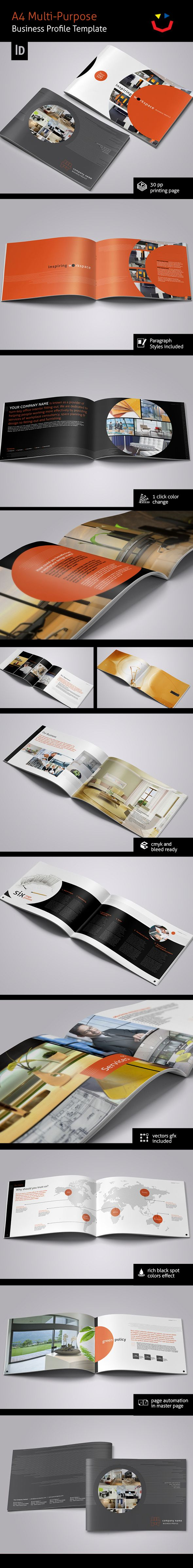 Interior Design Brochure by Jet Paul, via Behance
