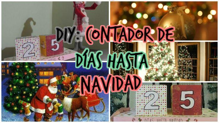 DIY: Contador de dias hasta Navidad